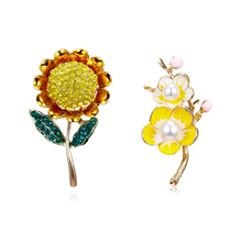 6059f02355f08 Buy sunflower brooch and get free shipping on AliExpress.com