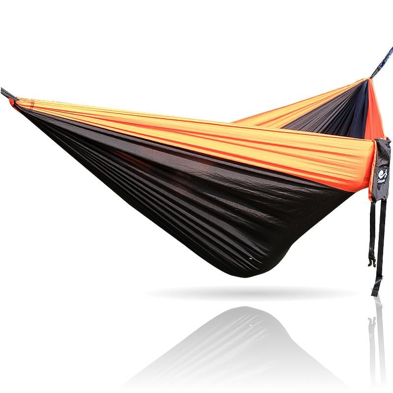 Orange Black Orange 300*200CM Nylon Hammock Outdoor FurnitureOrange Black Orange 300*200CM Nylon Hammock Outdoor Furniture
