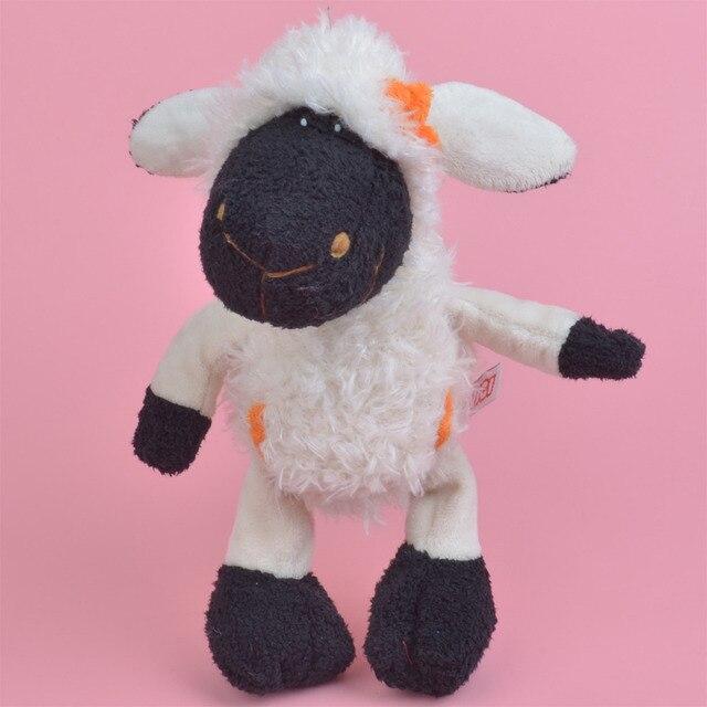 4f2328c354af4 25 cm Preto Rosto Branco Ovelhas para o Bebê Bonito Presente Dos Miúdos,  cordeiro