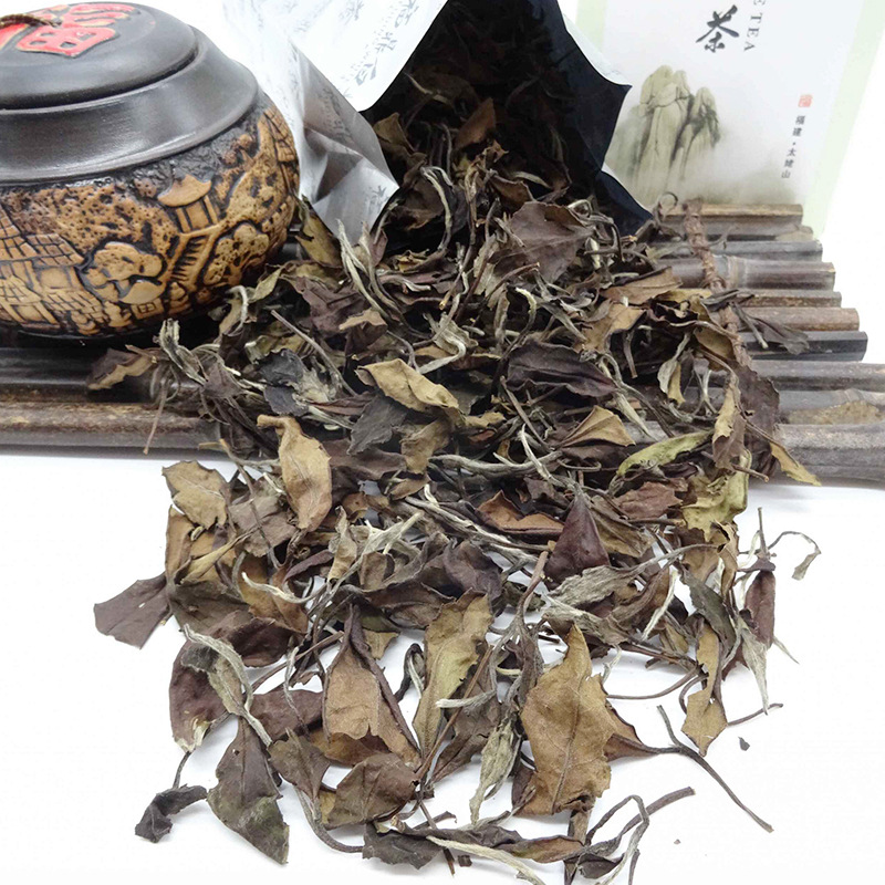 High Quality Fujian Fuding Shoumei White Tea 75g Lowering Blood Pressure