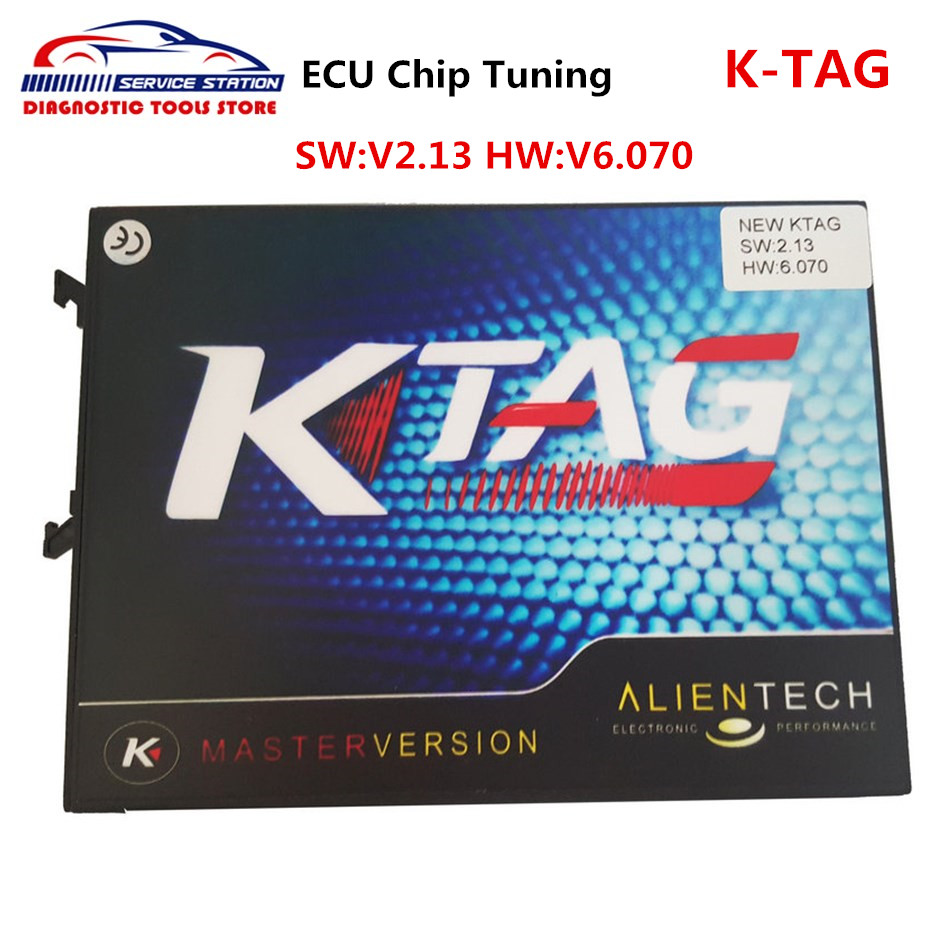 Super New Ktag V2.13 Top Quality KTAG ECU Programming Tool ktag v2.13 Master Version Unlimited Token V6.070 DHL Free Shipping