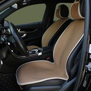 Image 2 - Housse de siège de voiture, 2 pièces, protection pour siège de voiture, protection respirante, pour SUV, protection pour cinq sièges
