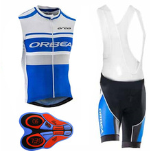 New ORBEA Cycling Jersey Sleeveless Vest Summer ropa ciclismo maillot cycle Clothes MTB Racing bike sportwear China Cheap I9