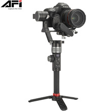 лучшая цена AFI D3 Gimbal Stabilizer For Camera Gimbal Dslr Handheld 3-Axis Stabilizer Video Mobile With Servo Follow Focus For All Models