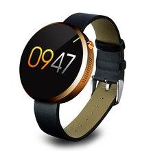 Mode Neue DM360 Smart Uhren Bluetooth 4,0 Tragbare Runde smartwatch IOS Und Android Für iphone samsung wasserdichte