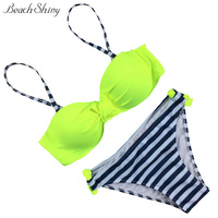 2016 Women S Fashion Bikini Push Up Bikini Set Brazilian Sexy Bandage Beach Ladies Bikini Sets