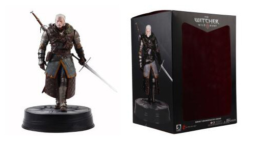 Cheval noir The Witcher 3 sauvage chasse Geralt de Rivia grand-maître Ursine Statue PVC figurine à collectionner modèle jouet 24 cm