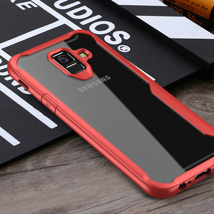 Slim Fit TPU Edge & Hard Back