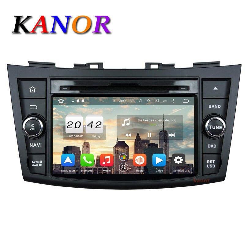 2GB 8 Core Autoradio Android 6 0 For Suzuki Swift 2011 2012 Car Radio font b