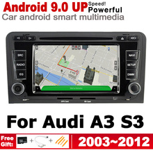 2G+16G Android 9.0 up Car radio GPS multimedia player For Audi A3 S3 8P 2003~2012 MMI Navigation WiFi BT ips android 2 din car dvd gps for audi a3 s3 8p 2003 2012 mmi navigation multimedia player stereo radio wifi system