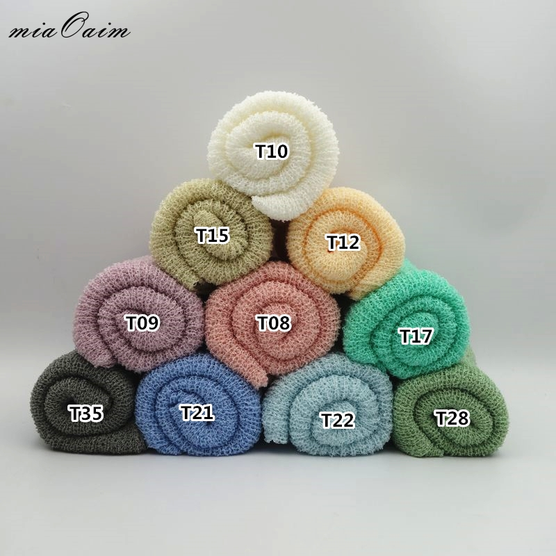 Mother & Kids 10pcs/lot 150*30cm Knit Stretched Rayon Wraps Newborn Baby Photography Props Maternity Scarf Hammock Swaddlings Women Shawl Accessories