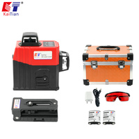 KaiTian 12Lines 3D/360/Rotary/Laser Cross Vertical Horizontal Professional Lasers Tool Self Leveling Red Beam Line Laser/3D/Leve