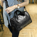New Women Bag Cylinder Package Hold-All Small Duffel Shoulder Bag Package New Fashion High Quality