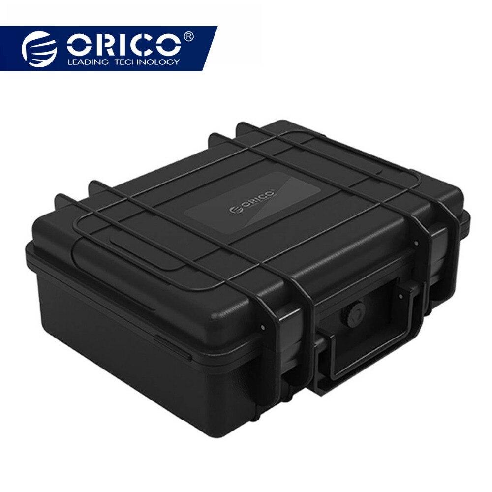 ORICO 3,5 дюймов 20-bay 3,5 дюймов HDD жесткий диск Внешняя защита чехол для хранения коробка портативный мульти Bay вода \ пыль \ ударопрочный