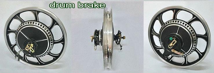 17inch loading king2 drum brake