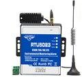 GSM 3G 4G RTU temperatura humedad alarma CA/CC alerta perdida control remoto soporte temporizador informe la aplicación de Control RTU5023