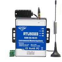 Wskaźnik temperatury i wilgotności GSM Alarm utraty zasilania AC/DC zdalny dodatkowy monitor raport czasowy kontrola aplikacji RTU5023
