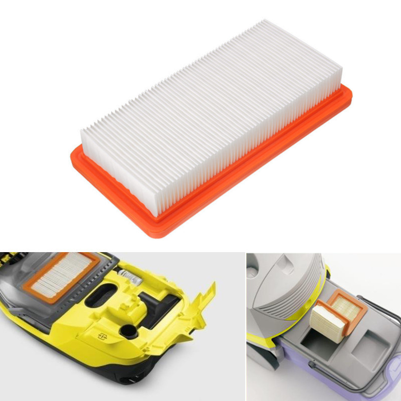 1 Pcs Washable HEPA Filter For Karcher DS5500 DS5600 DS5800 Filter Vacuum Cleaner Replacement For Karcher 6.414-631.0 Filters replacement filter vacuum cleaner hepa for karcher ds5500 ds6000 ds5600 ds5800 y05 c05