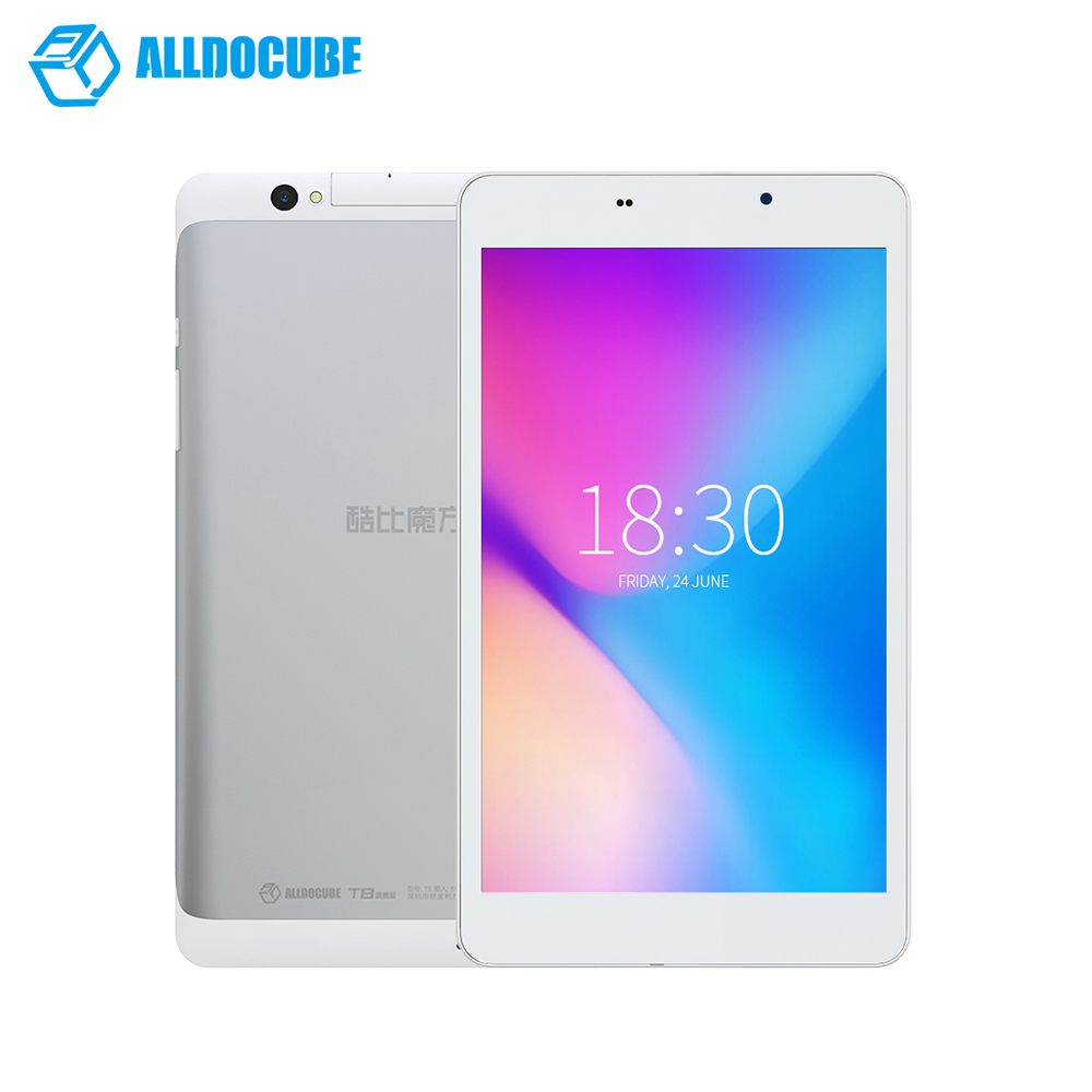 Alldocube Cube T8 ultime Plus tablettes double 4g téléphone tablette Pc Mtk8783 Octa Core 8 pouces Full Hd 1920*1200 Android 5.1 2 gb 16 gb