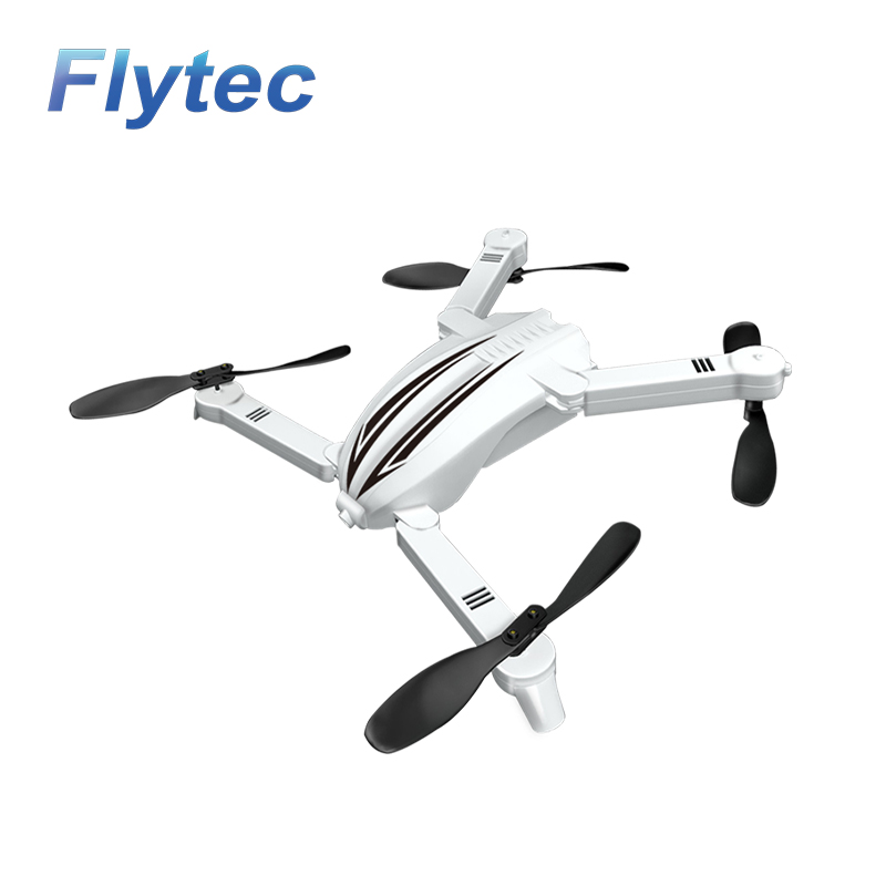 Flytec T13 3D 2.4G 4CH 6-Axis Gyro Mini Foldable RC Drone with Wifi FPV 720P Wide Angle Camera High Hold Mode RC Quadcopter flytec t18d rc quadcopter mini drone 4ch wifi fpv 720p hd camera rc drones height hold mode 6 axis ufo rtf drone with camera