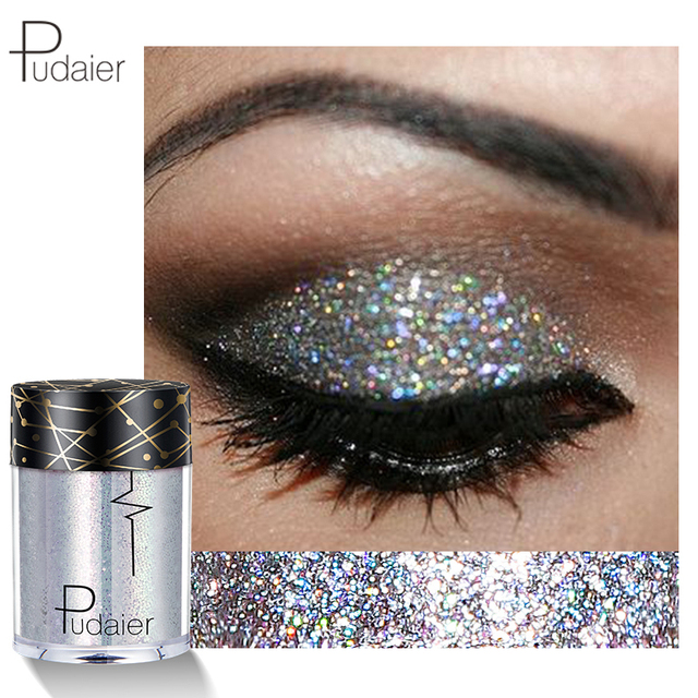 New 2018 Face Body Glitter Women Diamond Eye Shadow Kit Powder