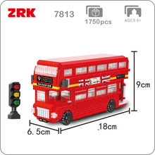 New 2019 Compatible Technic Movie 2 London Bus Blocks Bricks Building Educational Toys Model birthday Gifts for children