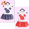 Monkids Outfit Girls Clothing Sets 2017 Summer Girls Skirts Princess Skirts Girls Clothing Sets Skirts+Top T shirtt Clothes