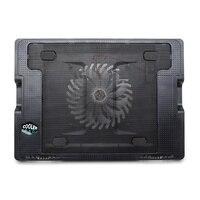 Alta Calidad Del Ordenador Portátil Cooler Pad Para 9-17 pulgadas Notebook PC Externo USB Dual LED Azul Soporte de Refrigeración almohadilla Portátil