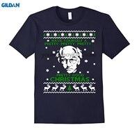 GILDAN 100 Cotton O Neck Custom Printed T Shirt Larrydavid Pretty Good Christmas Ugly Sweater T