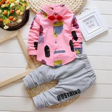 sale 2017 New Baby Boys Clothes Spring Autumn Fashion Toddler Children Kids Clothing Set Boys Formal Pants Suits