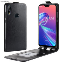 BYHeYang For Asus Zenfone Max Pro M2 ZB631KL Case 6.3 PU Leather Back Cover Phone ZB631 KL 631KL Flip