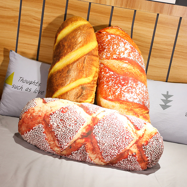 Butter Bread Pillow Cushion 1