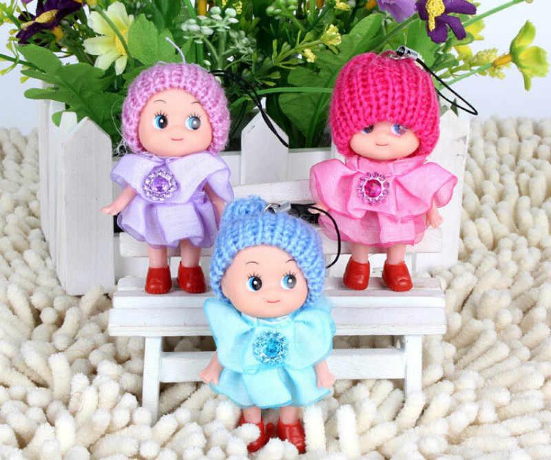 1 pièces Mini Ddung poupée meilleur jouet cadeau pour fille confus poupée porte-clés téléphone pendentif ornement maison Miniature