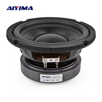 AIYIMA 6.5 Inch Subwoofer Speakers Home Theater Car Audio High Power 4 8 Ohm 100W Hifi Fever Woofer Loudspeaker For Sound System