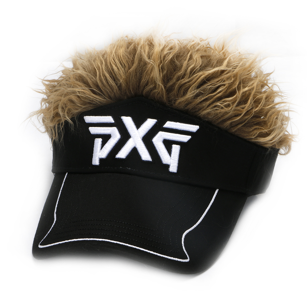 Golf hat PXG cap Men Women Golf Cap Baseball Cap Outdoor Sports Fake Flair  Hair Sun Visor Hat free shipping-in Golf Caps from Sports   Entertainment  on ... 975f30c1498