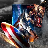 Hero Series Hulk Leather Cover For Ipad Pro 9 7inch Smooth Surface Iron Man Avengers Tablet