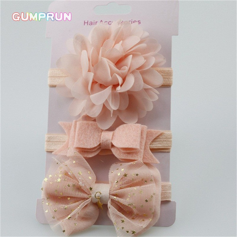 baby girl headband elastic floral girls hair band lace bow baby hair accessories newborn photography props girl hair band
