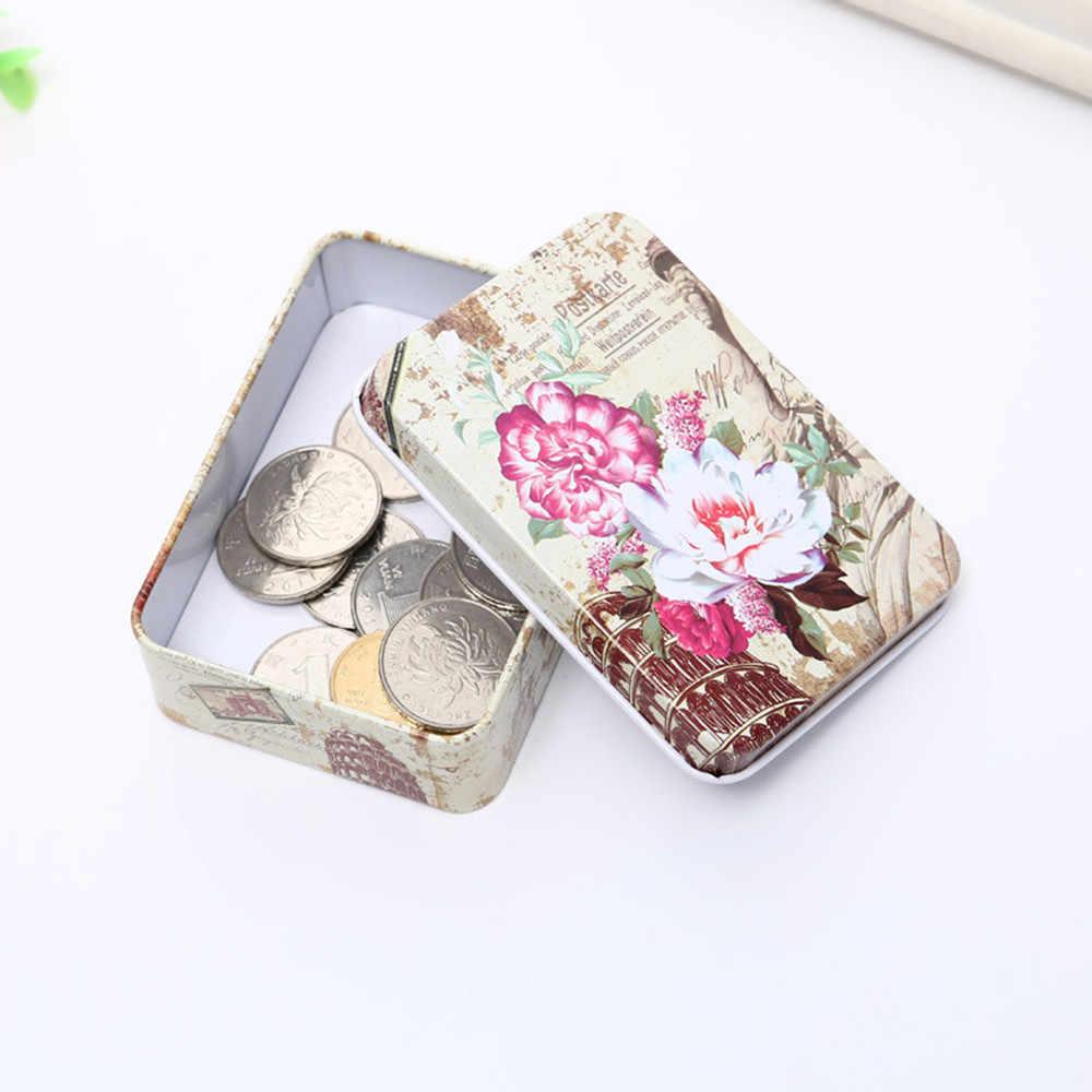 主催ボックス旅行ジュエリー化粧品ケースオーガナイザー収納ボックス漫画ブリキ収納ジュエリーボックス