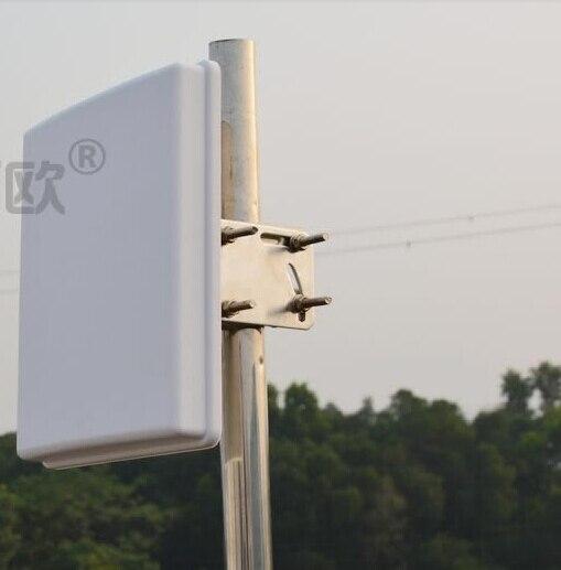OSHINVOY 2.4G antenne de raccordement extérieure N femelle haute gain14dBi wifi panneau antnena 2400 M L supports panneau antenne secteur
