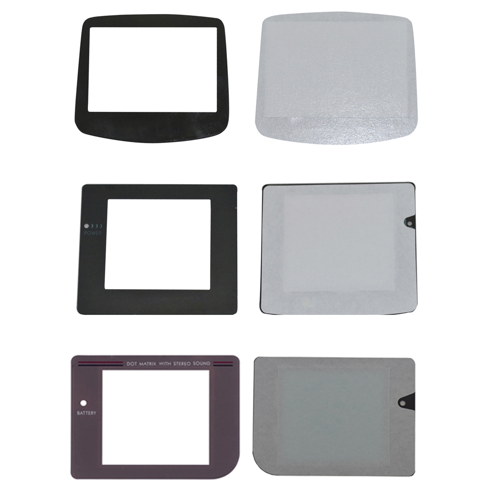 For GBC For GB A Screen  Replacement Plastic Glass Display  Protector Lens For Nintendo Gameboy Color Advance