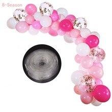 8-Season Balloon Stand Stick Holder Balloons Accessories Latex Ballon Plum Flower Shaped Clips Birthday Decoration