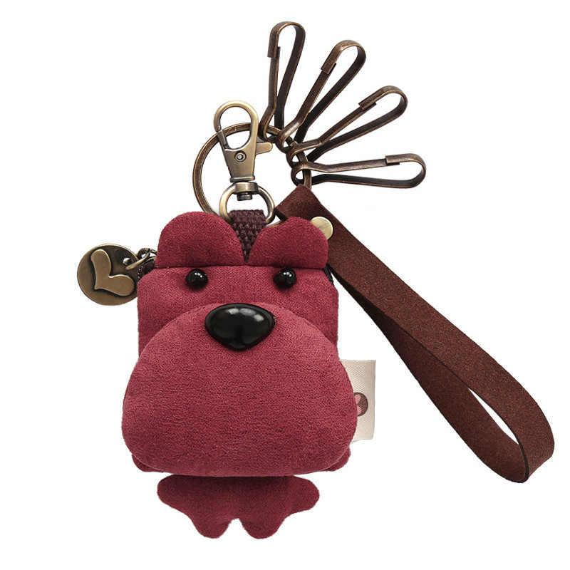 Bonito dos desenhos animados Urso Meninas Chaveiro Carteira Crianças Bolsa Da Moeda Da Embreagem Pequena Mudança Bolsa 239