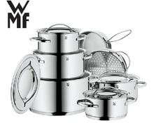 FREE SHIPPING  WMF 12pcs  COOKING POTS  INOX #18/10  PAN AND POT  COOKWARE SET  POT CASSEROLE POT AND PANS UTENSIL
