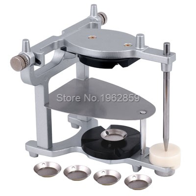New Dental Magnetic Denture Articulator Big Size Dental Teeth Adjustable Magnetic Articulator for Dental Lab Dentist Equipment