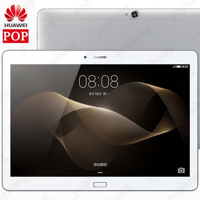 Global ROM Huawei MediaPad M2 10,0 RAM 3 GB ROM 64 GB Tablet PC Hisilicon Kirin 930 ocho nucleos 10,1 pulgadas 5MP + 13MP 6660 mAh WIFI