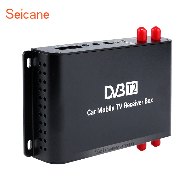 Seicane HDMI 1080 P DVB-T2 4 Tuner Receiver <font><b>TV</b></font> BOX Für AUTO DVD-player Digital <font><b>TV</b></font> image