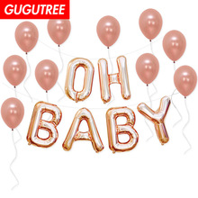 oh baby balloons for party Decoration, foil Banners Paper flowers tassels Streamers decoration PD-148