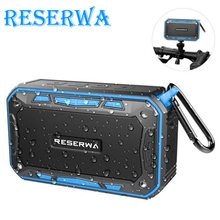 Reserwa Bluetooth Speaker Portable Wireless Speakers Radio Built-in Mic Waterproof Shock Resistance Support AUX, Pc, Music, Mp3(China)