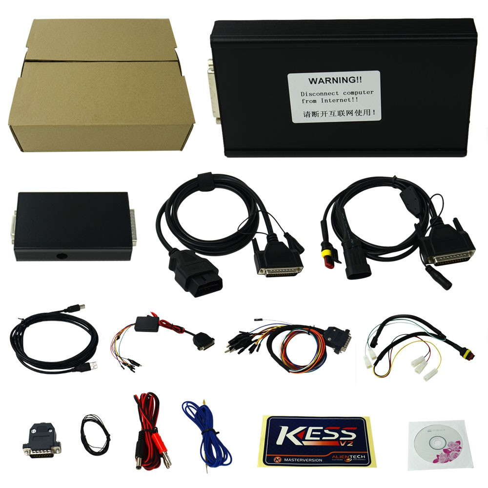 Best KESS V2 V2.30 V4.036 KessV2 V2.23 Manager Tuning Kit No Tokens Limited ECU Chip Programmer
