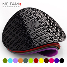 ME.FAM 1 Pieces 16cm Round Reunion Silicone Mat Non-slip Heat Insulation Placemat Bowl Plate Pads For Kitchen Restaurant Office